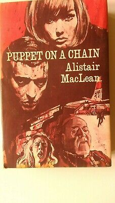 PUPPET ON A CHAIN Hardback By Alistair Maclean 1st Edition 1969 • 3.99£