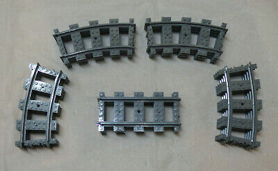 Brand New LEGO CITY TRAIN TRACK 20 PIECE OVAL EXPANSION BUNDLE Pack 7897 Or 7939 • 21£