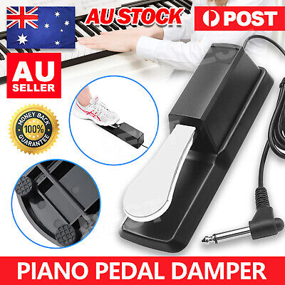 AU17.35 • Buy Piano Damper Sustain Pedal Foot Switch For Electric Yamaha Casio Roland Keyboard