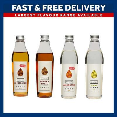 £5.73 • Buy Simply Syrups For Coffee And Cocktails | Full Range | 25cl Plastic Bottle Monin