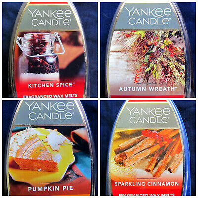 Yankee Candle Wax Melts ~ YOU CHOOSE SCENT ~ Holiday Fall Winter Christmas • 3.75£