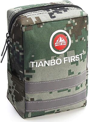 $29.99 • Buy Survival Molle First Aid Kit Emergency Gear Military Trauma Bag 120 Pieces Kits