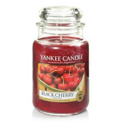 Yankee Candle Black Cherry Large Jar • 23.99£