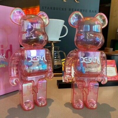 $150 • Buy BE@RBRICK Bearbrick  X-girl 2020 Medicom Toy Figure Japan Size 27cm Rep