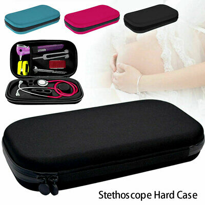 1Pc Medical Stethoscope Carrying Case Box Shockproof Organizer Case Storage UK • 10.49£