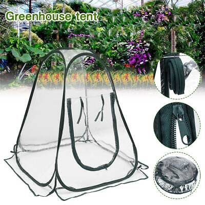 Mini Pop Up Garden Plants Greenhouse PVC Flower Grow Cover Tent Progagator UK • 19.09£