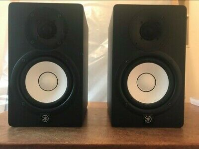 PAIR Yamaha HS5 Active Powered Monitor Speakers BLACK USED MONITORS MIXING MUSIC • 133£