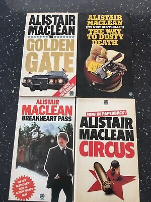 Alistair Maclean Books Bundle 1970s Prints All Good Condition • 1.49£
