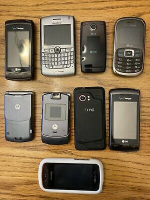 $ CDN75.97 • Buy Lot Of 9 Used Cell Phones