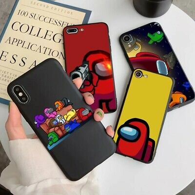 Among Us Phone Case 3D Gamer For Samsung Galaxy S20 Note 20 10 Plus Ultra Solid  • 4.89£