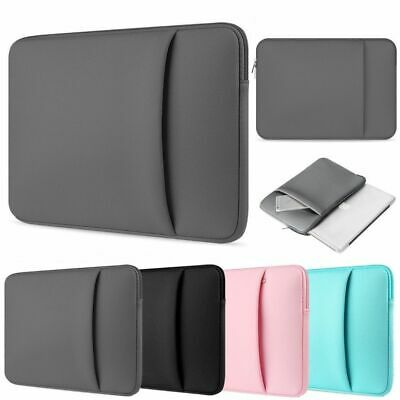 DOUBLE POCKETS Sleeve Case Bag Cover Microsoft Surface 10.5  12.3  13.5  Laptop  • 8.49£