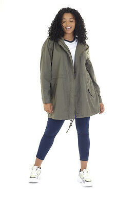 New Ladies Brave Soul Belgium Parka Winter Fish Tail Trench Coats Jackets 8-24 • 24.99£