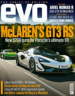 $ CDN12.67 • Buy EVO Magazine October 2020 McLaren GT3 RS Lotus Evora GT410 Porsche 911 Focus RS