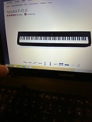 YAMAHA P45B DIGITAL PIANO BRAND NEW IN SEALED BOX With FULL DESCRIPTION. • 389.99£