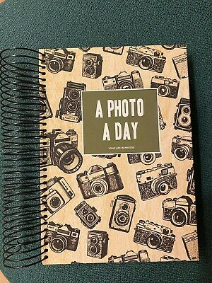 Typo A5 Photo A Day Journal With Space To Write Spiral Bound Any Year Diary  • 4£