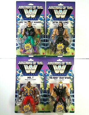 $129.99 • Buy Masters Of The WWE Universe Series 4 Lot JAKE ROBERTS, SETH ROLLINS, MR T, FIEND