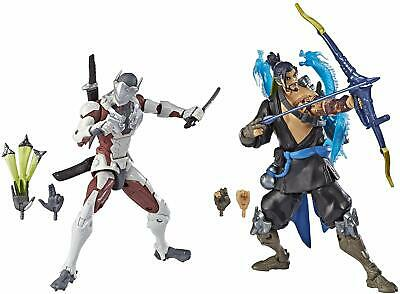 AU105.71 • Buy Overwatch Ultimates Series Hanzo Genji Dual Pack 6-Inch-Scale With Accessories