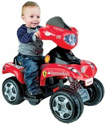 AU319.66 • Buy Feber Feber Ferrari 6v Kids Ride On Quad Bike Quad Bike Red