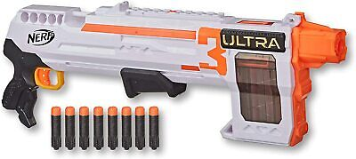 AU43.25 • Buy Nerf Ultra Three Pump Action Blaster With 8 Dart Internal Clip Kids Toys Games