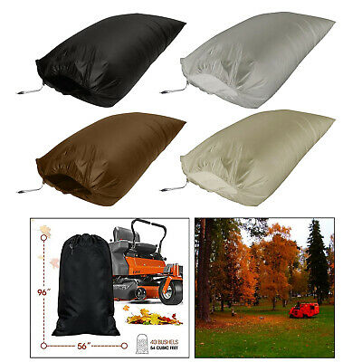 AU32.37 • Buy Lawn Tractor Leaf Bag Garbage Cleaning Bag Reusable Fits All Lawn Tractors