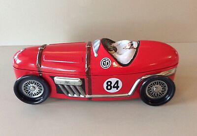 Marks And Spencer Red Metal Car Sweet Tin No Contents • 5£