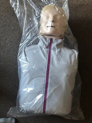 Laerdal Little Anne First Aid CPR Training Manikin Doll With First Aid Matt. • 200£