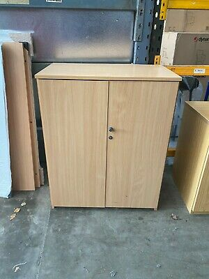 Beech Cabinet, Stationery Cupboard, Storage, Office, Reception, Home • 60£