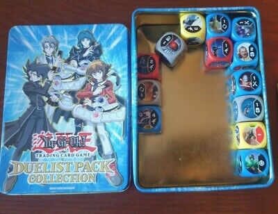 Yu-Gi-OH Tradin Card Game Duelist Pack Collection Tin + Dice • 4.50£