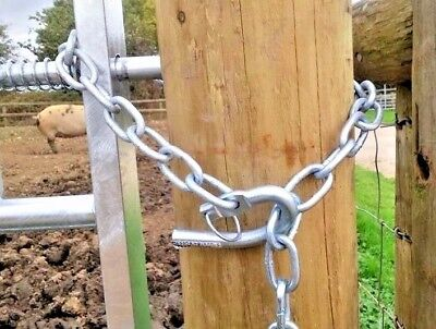 £17.95 • Buy New Zealand Gate Chain Farm Wooden Gates 5 Bar Gates Tractor Stables Fencing