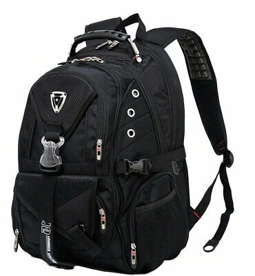 4 Colour SWISS Multifunctional TRAVEL LAPTOP BACKPACK Man School Bags Students • 47.51£
