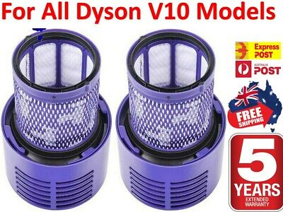 AU17.45 • Buy For DYSON Filter V10 Cyclone Animal Absolute Total Clean | 1 / 2 PACK