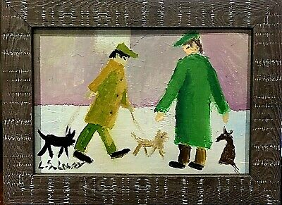 L.S. Lowry - Framed Oil Painting • 21£