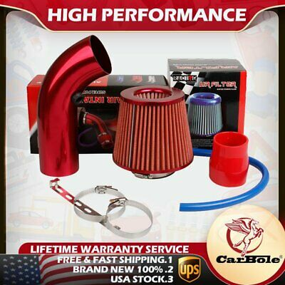 $ CDN52 • Buy Cold Air Intake Filter Pipe Induction Kit Power Flow Hose System Car Accessories