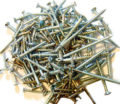 £4.55 • Buy 300g Mixed Bag Assorted Slotted Countersunk Traditional Multi Purpose Wood Screw