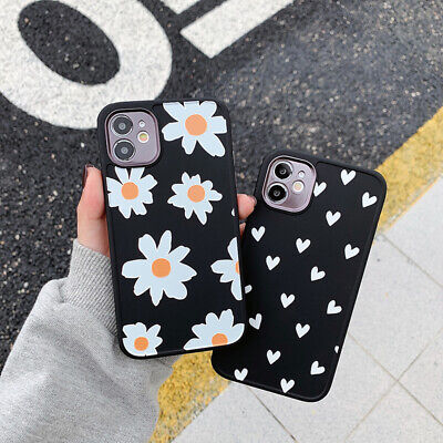 AU6.09 • Buy For IPhone 12 11 Pro Max XS XR 8 7 SE 2020 Cute Flower Silicone Soft Case Cover