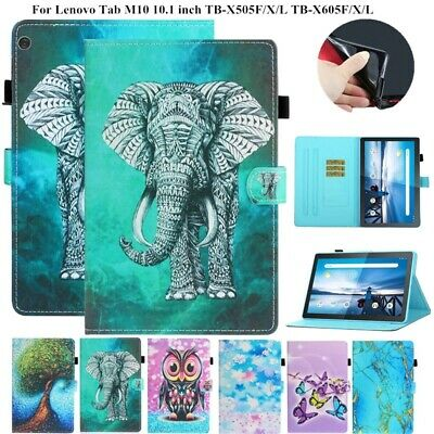 Tablet Case For Lenovo Tab M10 FHD Plus TB-X606F/X Elephant Butterfly Fold Cover • 14.12£