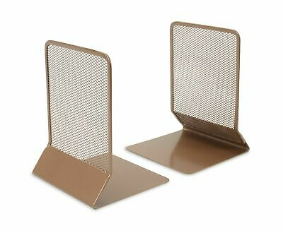 £7.49 • Buy OSCO Dark Rosegold Wire Mesh Bookend - MBE1-RG X2 Pairs