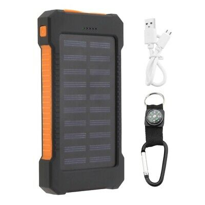AU50.06 • Buy Best Solar Power Bank 300000mAh Dual USB Portable Battery Charger For Phone US