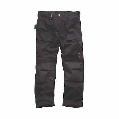 Scruffs Worker Work Trousers Non-Holster Black Hard Wearing Site Trade Pro • 23.75£