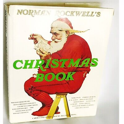 $ CDN6.38 • Buy Norman Rockwell's Christmas Book, Stories, Poems & Music, Holiday Tradition 1977