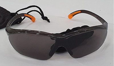 £7.99 • Buy Safety PPE Sunglasses UV Protection For Work/site/sport/cycling DARKGREY Glasses