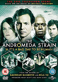 The Andromeda Strain - The Mini-Series - Complete (DVD, 2008, 2-Disc Set) • 3£
