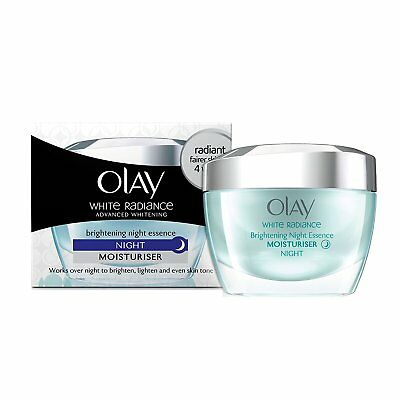 AU42.52 • Buy Olay White Radiance Advanced Whitening Fairness Night Essence Skin Cream 50gm KU