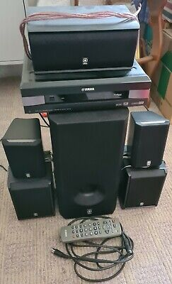 Yamaha 5.1 Surround Sound System VS-10 With Subwoofer & Remote And Manual • 30£