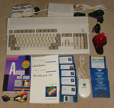 Commodore Amiga A1200 With Hard Drive Upgrade - Mouse, Joystick - Floppy Faulty • 250£