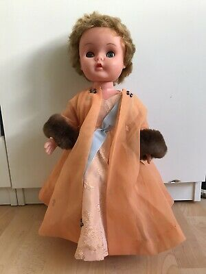 47cm Roddy Doll With Gorgeous Handmade Vintage Custom Outfit -Possibly 40s 50s • 10£