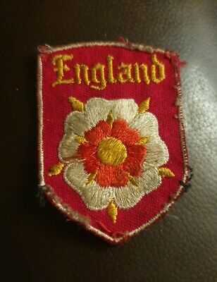 Vintage England Woven Badge Patch • 6£