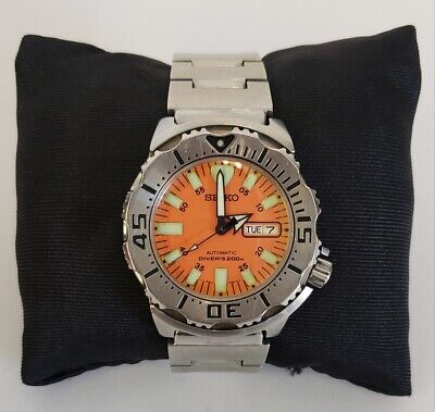 $ CDN399 • Buy Seiko 1st Classic Orange Monster 7S26-0350 Diver 200M Automatic Watch