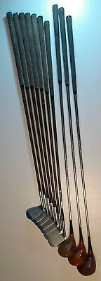 $299.99 • Buy MACGREGOR RH Tommy Armour SILVER SCOT TOURNEY 3852 IRONS DRIVERS LAMINATED WW-II