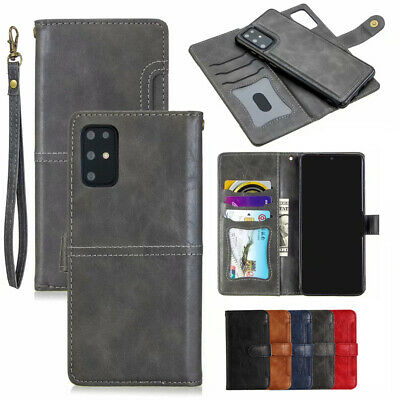 AU21.15 • Buy Removable Leather Wallet Card Case Cover For Samsung S20 Ultra S20Plus S10 S9 S8